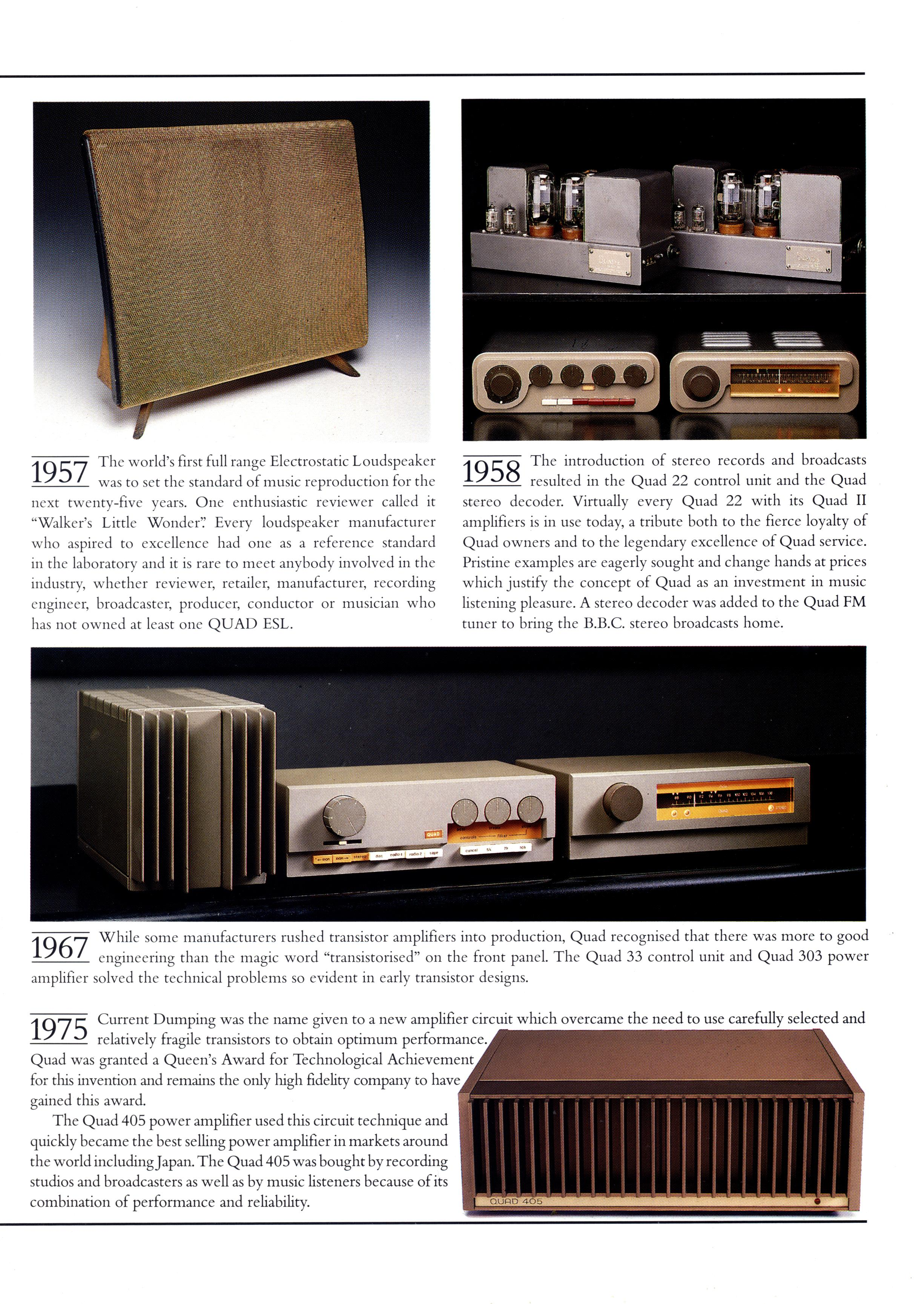 UK Hi-Fi History Society - QUAD General