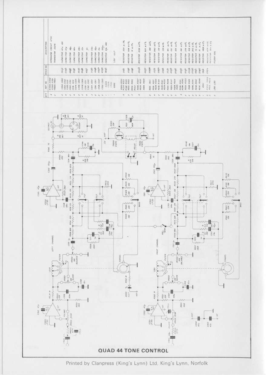 UK HiFi History Society     QUAD    Manuals   diagrams    44