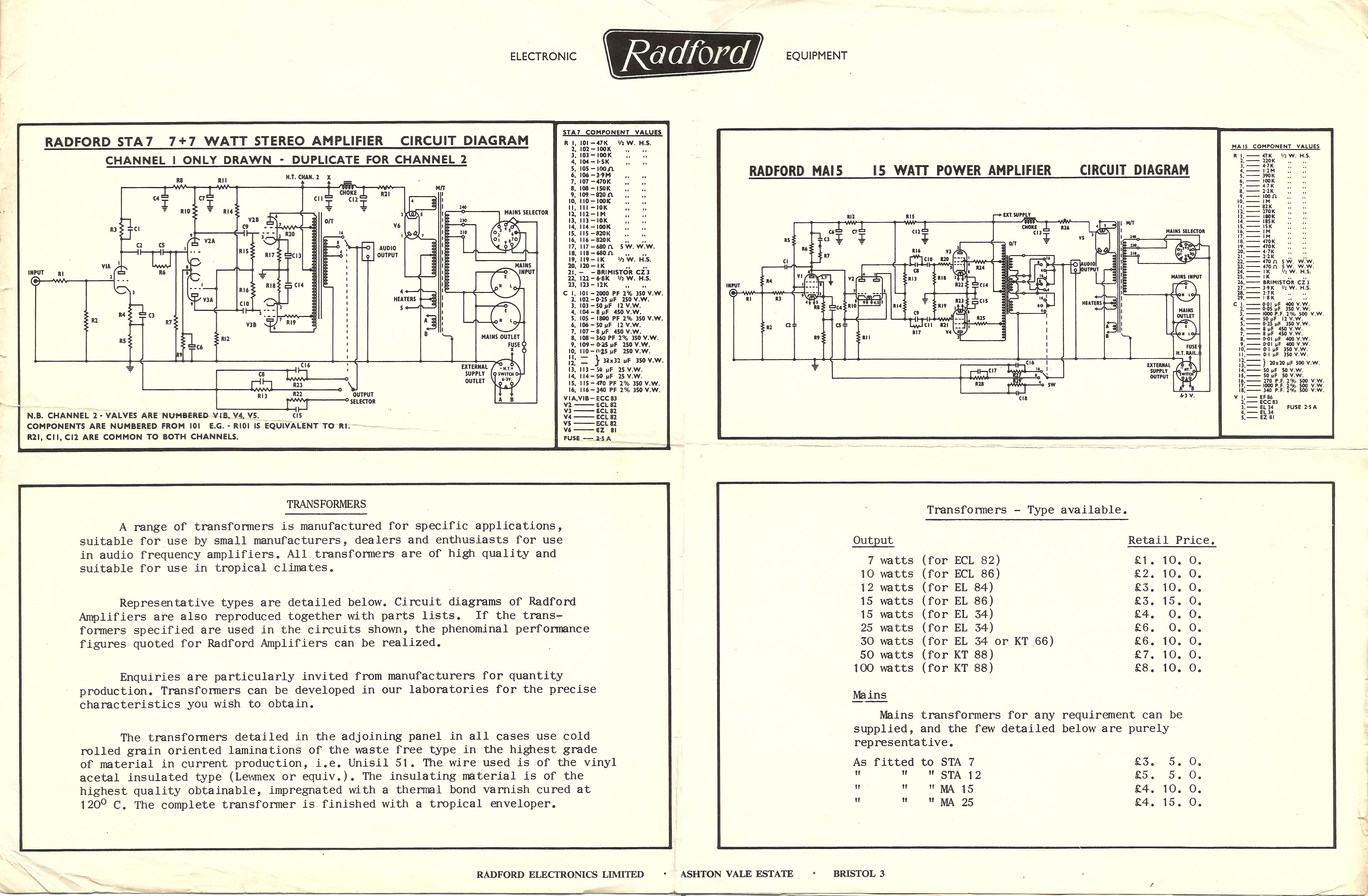 Radford Sta7 Diyaudio 5 Watt Amplifier Circuit Diagram 210v